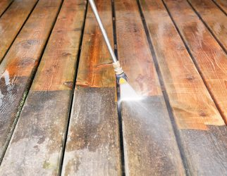 Wood Power Washing